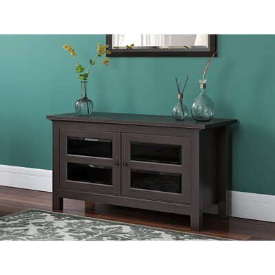 Dunmore 44 Wood TV Stand Color: Espresso