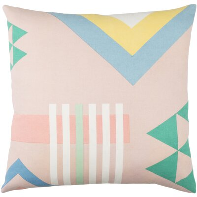 Clio Indoor Cotton Throw Pillow Size: 20 H x 20 W x 4 D