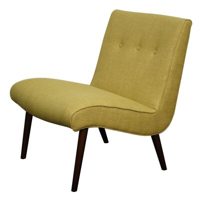 Quinten Slipper Chair Upholstery: Pistachio