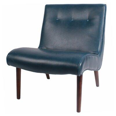 Baccus Slipper Chair Upholstery: Dark Blue