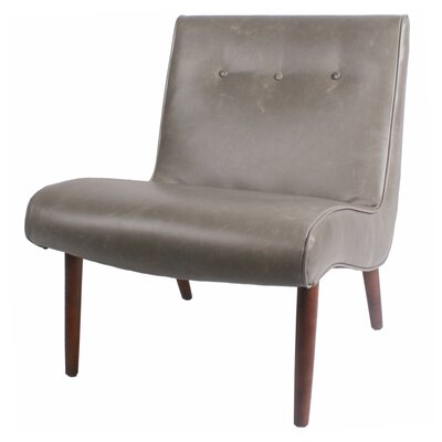 Baccus Slipper Chair Upholstery: Gray