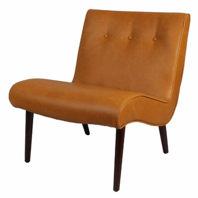 Baccus Slipper Chair Upholstery: Caramel