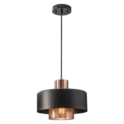 Bacote 1-Light Drum Pendant