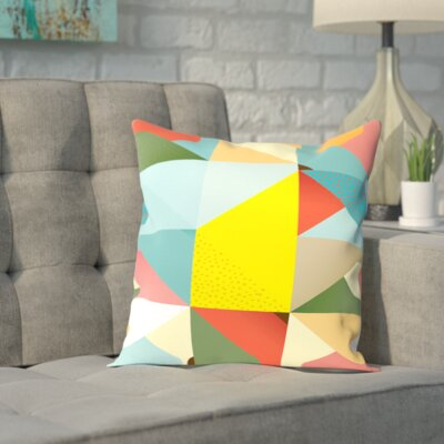 Pattern6 Outdoor Throw Pillow Size: 16