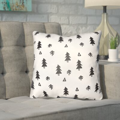 Coder Fir Forest Indoor/Outdoor Throw Pillow Size: 18 H x 18 W x 4 D