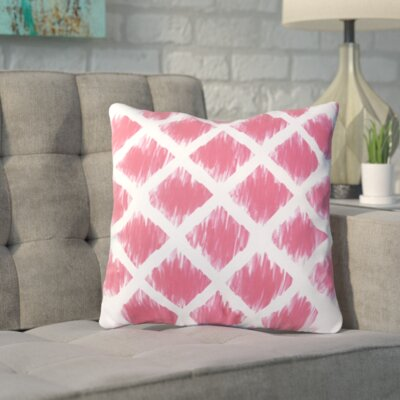 Numenius Outdoor Throw Pillow Size: 18 H x 18 W x 5 D, Color: Bright