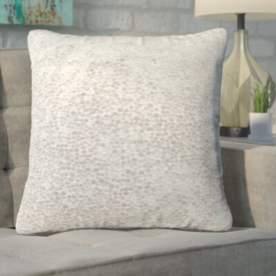 Narcissa Snowballs Throw Pillow Size: Small
