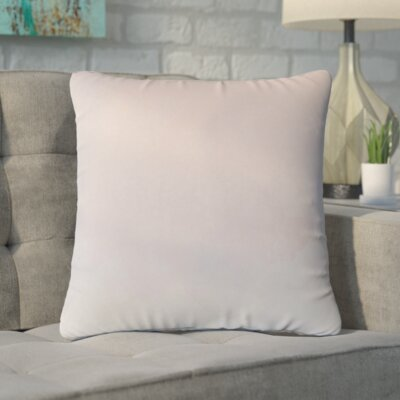 Markos Velvet Throw Pillow Color: Orchid, Size: 18 x 18