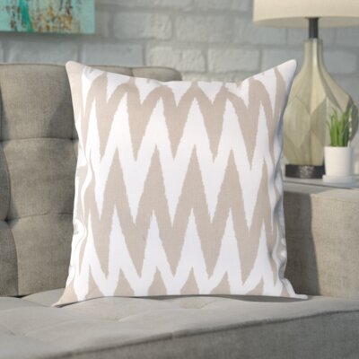 Vaughn 100% Cotton Throw Pillow Cover Size: 18 H x 18 W x 0.25 D