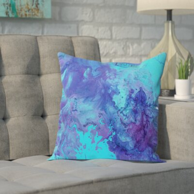 Octopus Outdoor Throw Pillow Size: 16 H x 16 W x 2 D