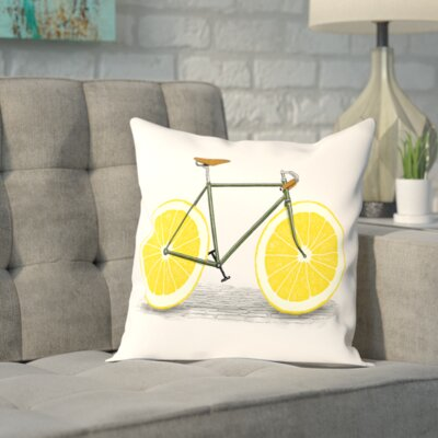 Brookeville Zest Outdoor Throw Pillow Size: 20 H x 20 W x 2 D