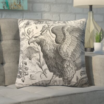 Biscoe Mythology Linen Throw Pillow
