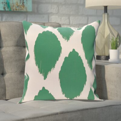 Blackwood Decorative Outdoor Pillow Color: Lake Blue, Size: 16 H x 16 W x 1 D