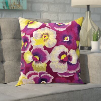 Carrera Floral Throw Pillow