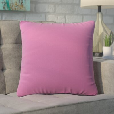 Ansley Solitaire Throw Pillow Color: Lavender