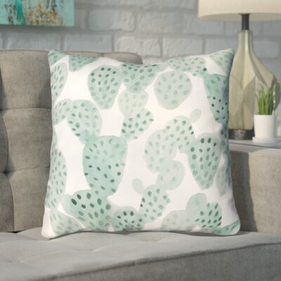 Bissett Prickly II Indoor/Outdoor Throw Pillow Size: 18 H x 18 W x 4 D