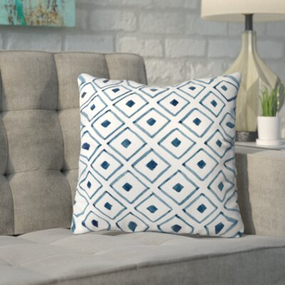 Irena Outdoor Throw Pillow Size: 16 H x 16 W x 4 D