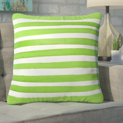 Estes Spruce Stripes Throw Pillow Size: Medium