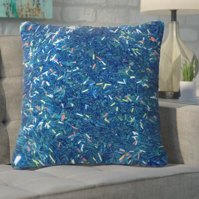 Aegeus Tinsel II Throw Pillow Size: Medium