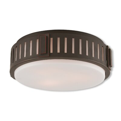 Cabello 3-Light Flush Mount Finish: Olde Bronze