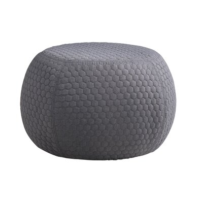 Evelynn Contemporary Geometric Ottoman