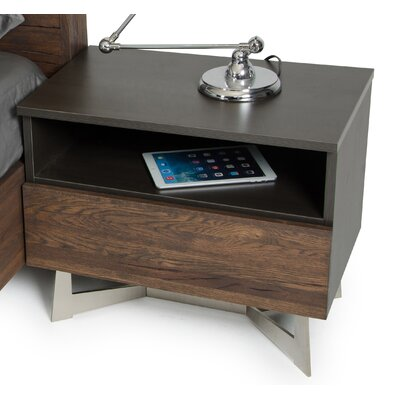 Merkley 1 Drawer Nightstand
