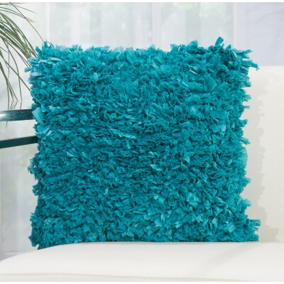 Bresnahan Throw Pillow Color: Turquoise