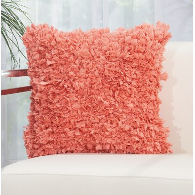 Bresnahan Throw Pillow Color: Burnt Coral