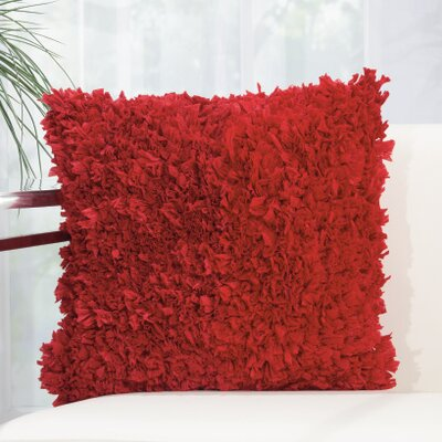 Bresnahan Throw Pillow Color: Ruby