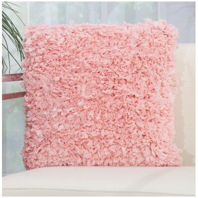 Bresnahan Throw Pillow Color: Rose