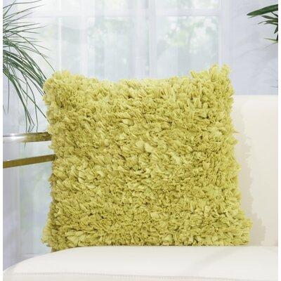 Bresnahan Throw Pillow Color: Apple Green