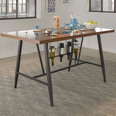 Baeza Wood Top Counter Height Dining Table