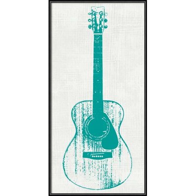 Ivy Bronx 'Guitar Collector I' Framed Graphic Art Print IVYB6414 40324096