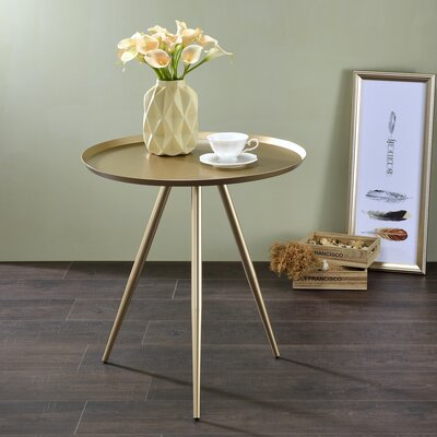 Bail End Table Finish: Champagne