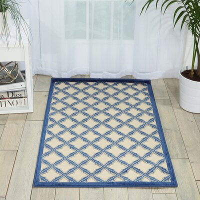 Zopyros Ivory Area Rug Rug Size: Rectangle 26 x 4