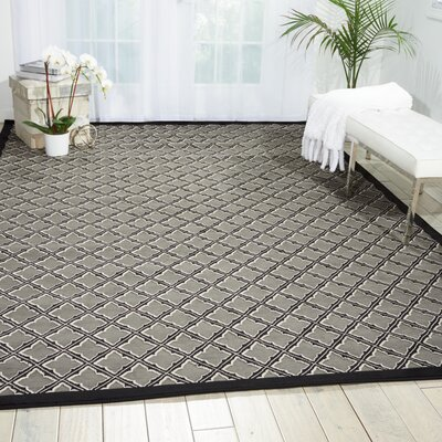 Zopyros Black Area Rug Rug Size: Rectangle 26 x 4