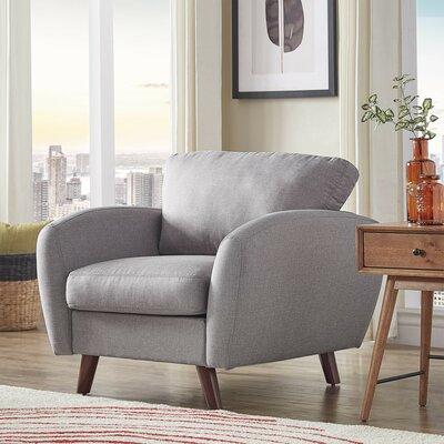 Garraway Armchair Upholstery: Gray