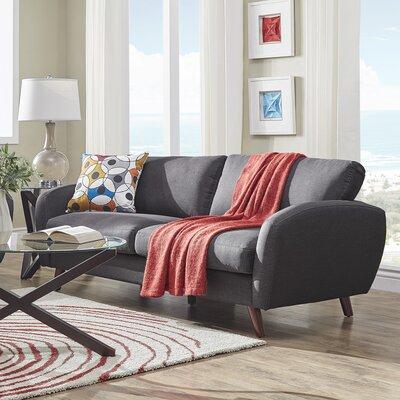 Garraway Sofa Upholstery: Dark Gray
