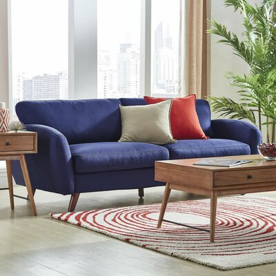 Garraway Sofa Upholstery: Twilight Blue