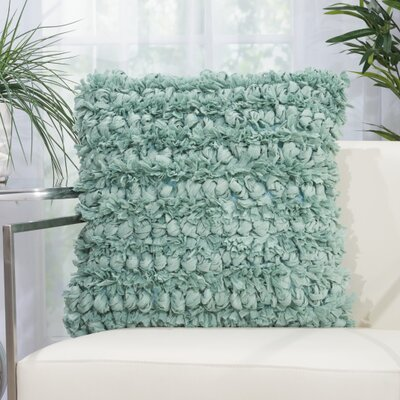 Newburyport Contemporary Throw Pillow Color: Celadon, Size: 20 H x 20 W x 0.5 D