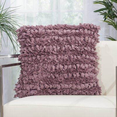 Breshears Throw Pillow Size: 20 H x 20 W x 0.5 D, Color: Lavender