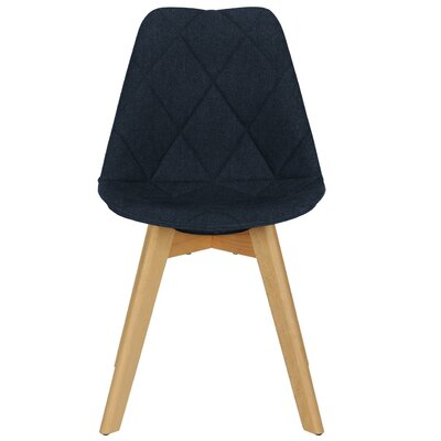 Barreto Side Chair Upholstery Color: Navy