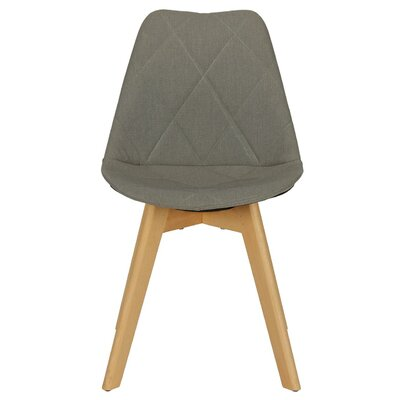 Barreto Side Chair Upholstery Color: Gray