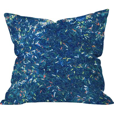 Aegeus Tinsel II Throw Pillow Size: Large