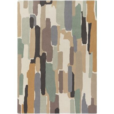 Melaina Hand-Tufted Modern Wool Area Rug Rug Size: Rectangle 5' x 8'