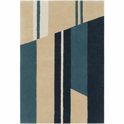 Damiano Hand-Tufted Modern Area Rug Rug Size: 5 x 76