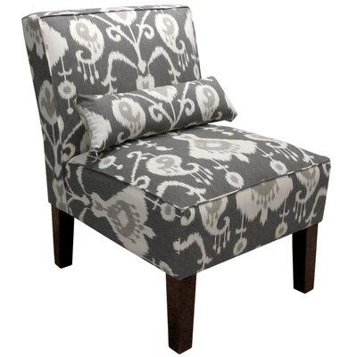 Banker Ikat Slipper Chair