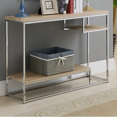 Baran Wood/Metal Console Table