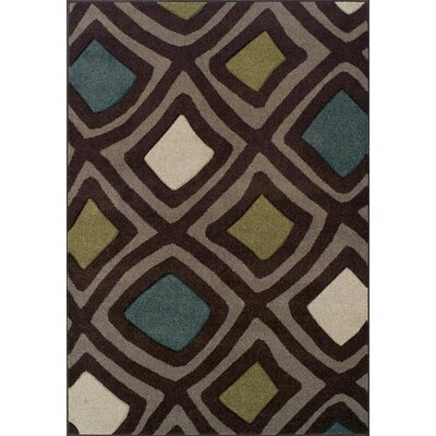 Nicole Chocolate Area Rug Rug Size: Rectangle 710 x 107