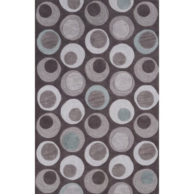 Norman Taupe Circle Area Rug Rug Size: Rectangle 36 x 56